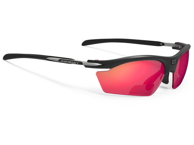 Rudy Project Rydon Readers +1.5 dpt Okulary rowerowe, matte black / multilaser red
